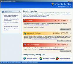 Cek Keamanan Komputer Windows Vista Anda