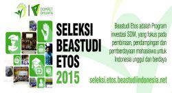 Yuk Ikuti Seleksi Nasional Beasiswa Studi Etos 2015