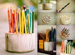 Cara Membuat Tempat Pensil Kayu