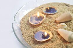 Lilin dari Kulit Kerang