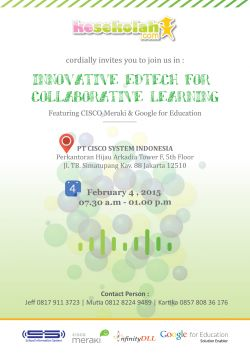 Press Release - Innovative Edtech for Collaborative Learning
