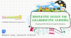 Innovative Edtech for Collaborative Learning - March 2015