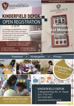 Open House Kinderfield Depok