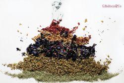 Lukisan Anggun Dibuat dari Bahan Herbal!