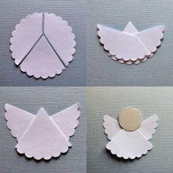 Cara Membuat Malaikat dari Kertas Lipat