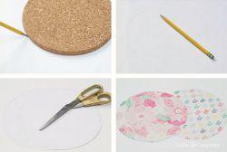 Mousepad dari Tatakan Gelas