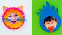 Menghias Photo Anak dari Kertas Warna