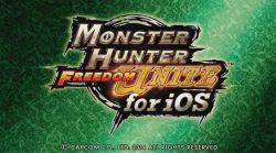 Monster Hunter Freedom Unite Dapatkan Diskon Harga di App Store untuk Pertama Kali