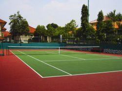 Sarana dan Prasarana untuk Tenis Lapangan Bag. 1