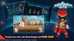 Power Rangers Dash, Game Action Runner yang Menampilkan Semua Jenis Rangers Lengkap dengan Megazord