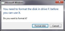Penyebab Flashdisk, Memory dan Hardisk Eksternal Minta Format