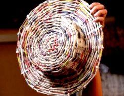 Cara Membuat Topi dari Koran Bekas