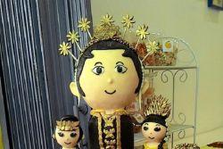 Peringati Hari Kartini, Wanita di Bogor Buat Patung dari Peuyeum!