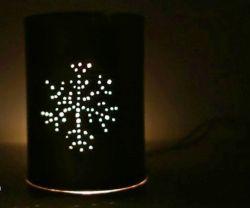 Membuat Lampu Hias dari Kaleng Bekas
