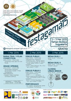 Festagama 2015: Creating Smart, Streamlining The City
