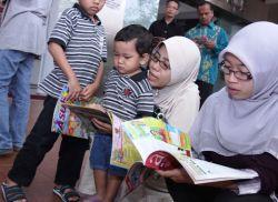 Perpusnas: Lingkup Keluarga Menjadi Langkah Awal Tanamkan Budaya Membaca