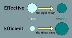 Perbedaan Penggunaan Kata Effective dan Efficient