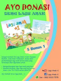 Promo CD Anak, Beli 5 CD Gratis 1 CD