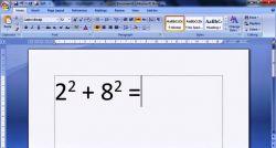 Langkah Membuat Pangkat pada Microsoft Word/Fungsi Superscript