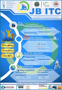 Java-Bali IT Competition 2015