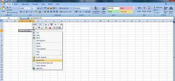 Fungsi Wrap Text dan Merge Cells pada Excel 2007