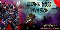Kalahkan Para Boss Monster di Event Eldine Boss Invasion Arcane Wars Indonesia!