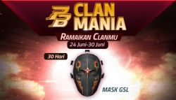 Ramaikan Event PB Clan Mania dan Menangkan GSL Mask untuk Clan Kalian di Point Blank!