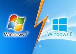Perbedaan dan Kelebihan Windows 8 dengan Windows 7