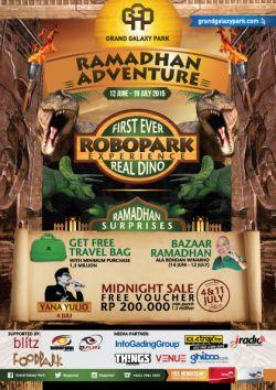 Promo Robopark di Grand Galaxy Park