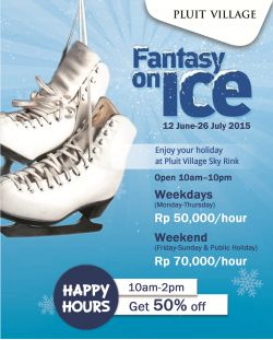 Promo Ice Skating Pluit Village Mall