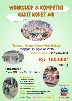 Workshop dan Kompetisi Roket Air