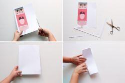 Boneka Tangan dari Kertas