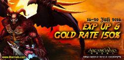 Arcane Wars: Tingkatkan Level Karakter Bersama Event Special Buff di Hari Kemenangan!