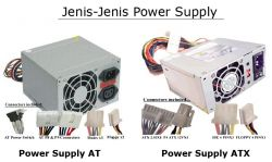 Perbedaan Power Supply Komputer at dan Atx