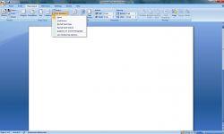 Membuat Nomor Urut Baris pada Dokumen di MS Word