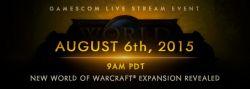 Blizzard Akan Mengumumkan Ekspansi Terbaru World of Warcraft di Gamescom 2015