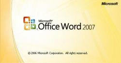 Membuat dan Menulis Rumus Matematika pada MS Word 2007