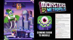 Adult Swim Games dan Pikpok Ungkap Sekuel Monsters Ate My Condo, Judulnya Monsters Ate My Metropolis