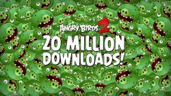 Hanya dalam Seminggu, Angry Birds 2 Sudah Menyentuh Angka 20 Juta Lebih Unduhan