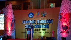 Jatim Raih Juara Umum Ajang O2SN 2015