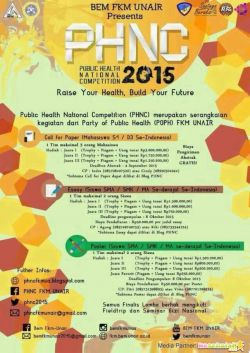 Public Health National Competition (PHNC) 2015