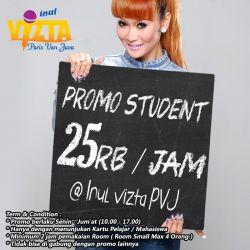 Inul Vizta PVJ - Promo Pelajar Bulan Agustus
