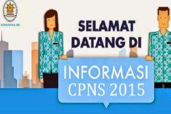 Syarat dan Tata Cara Pendaftaran Seleksi CPNS 2015