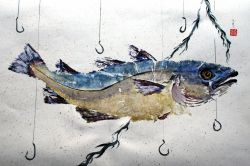 Buat Lukisan Ikan dengan Teknik Gyotaku!