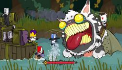Game Lucu Castle Crashers Remastered Akan Siap Dimainkan pada Bulan September Ini