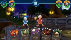 The Duckforce Rises, Game RPG Berbasis Kartu dengan Karakter Populer dari Disney