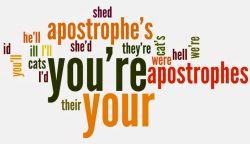 Apostrof dalam Kalimat