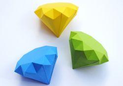 Membuat Permata dari Kertas