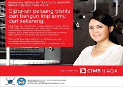 Raih Beasiswa Entrepreneur Butik CIMB Niaga 2015