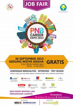 Job Fair Politeknink Negeri Bali Career Expo